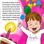La festa del primer aniversari