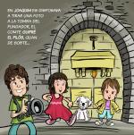 Visiten la tomba de Guifré el Pilós